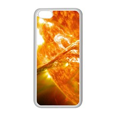 SOLAR FLARE 2 Apple iPhone 5C Seamless Case (White)