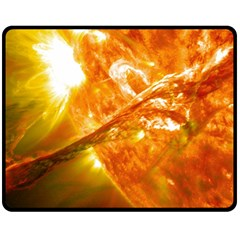 Solar Flare 2 Double Sided Fleece Blanket (medium)