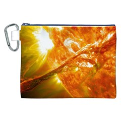 SOLAR FLARE 2 Canvas Cosmetic Bag (XXL)