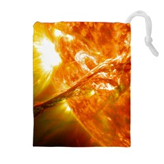 SOLAR FLARE 2 Drawstring Pouches (Extra Large)