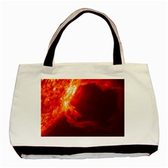 SOLAR FLARE 1 Basic Tote Bag (Two Sides)
