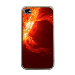 SOLAR FLARE 1 Apple iPhone 4 Case (Clear)