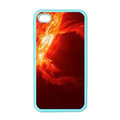 SOLAR FLARE 1 Apple iPhone 4 Case (Color)