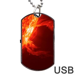 SOLAR FLARE 1 Dog Tag USB Flash (One Side)