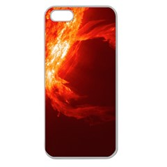 SOLAR FLARE 1 Apple Seamless iPhone 5 Case (Clear)