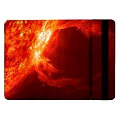 Solar Flare 1 Samsung Galaxy Tab Pro 12 2  Flip Case