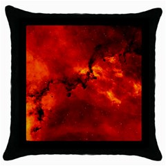 ROSETTE NEBULA 2 Throw Pillow Cases (Black)