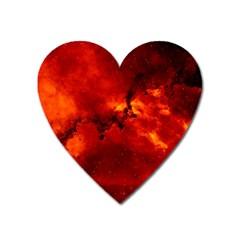 Rosette Nebula 2 Heart Magnet