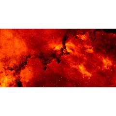 Rosette Nebula 2 You Are Invited 3d Greeting Card (8x4)