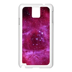 ROSETTE NEBULA 1 Samsung Galaxy Note 3 N9005 Case (White)
