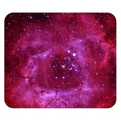 Rosette Nebula 1 Double Sided Flano Blanket (small)