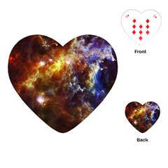 Rosette Cloud Playing Cards (heart)