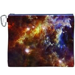 ROSETTE CLOUD Canvas Cosmetic Bag (XXXL)