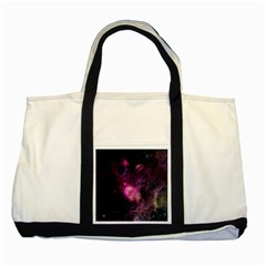 PURPLE CLOUDS Two Tone Tote Bag