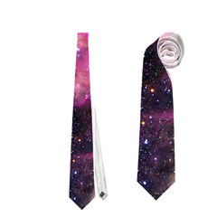 Purple Clouds Neckties (one Side)