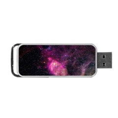 PURPLE CLOUDS Portable USB Flash (One Side)