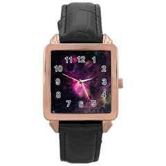 PURPLE CLOUDS Rose Gold Watches
