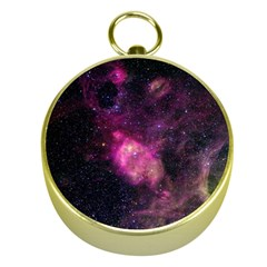 PURPLE CLOUDS Gold Compasses