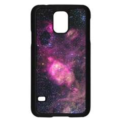 Purple Clouds Samsung Galaxy S5 Case (black)