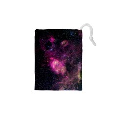 PURPLE CLOUDS Drawstring Pouches (XS)