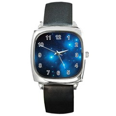 PLEIADES Square Metal Watches