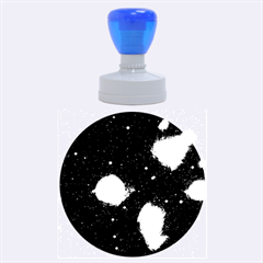 Pleiades Rubber Round Stamps (large)