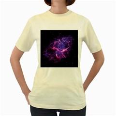 PIA17563 Women s Yellow T-Shirt