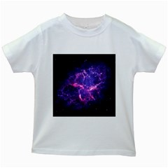 Pia17563 Kids White T Shirts