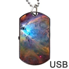 ORION NEBULA Dog Tag USB Flash (Two Sides)
