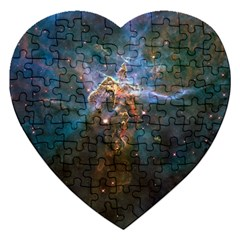 MYSTIC MOUNTAIN Jigsaw Puzzle (Heart)