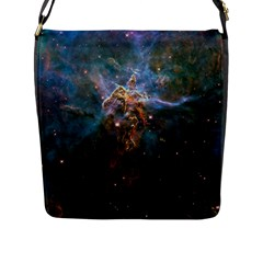 MYSTIC MOUNTAIN Flap Messenger Bag (L)