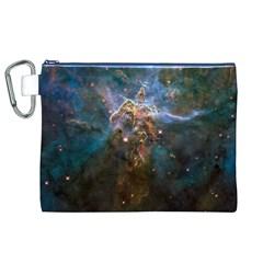 MYSTIC MOUNTAIN Canvas Cosmetic Bag (XL)