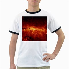 MILKY WAY CLOUDS Ringer T-Shirts