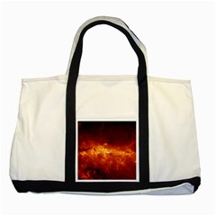 MILKY WAY CLOUDS Two Tone Tote Bag