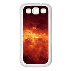 MILKY WAY CLOUDS Samsung Galaxy S3 Back Case (White)