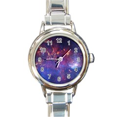 MILKY WAY CENTER Round Italian Charm Watches