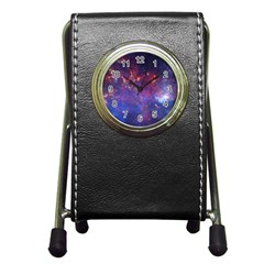 MILKY WAY CENTER Pen Holder Desk Clocks