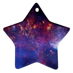 MILKY WAY CENTER Star Ornament (Two Sides)