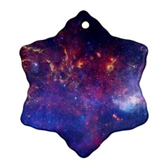 MILKY WAY CENTER Snowflake Ornament (2-Side)