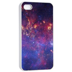 Milky Way Center Apple Iphone 4/4s Seamless Case (white)