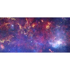 Milky Way Center You Are Invited 3d Greeting Card (8x4)