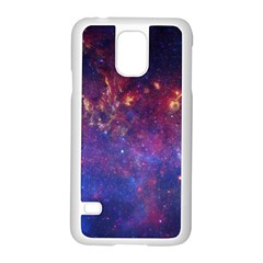 MILKY WAY CENTER Samsung Galaxy S5 Case (White)