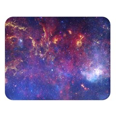 MILKY WAY CENTER Double Sided Flano Blanket (Large)
