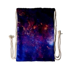 Milky Way Center Drawstring Bag (small)