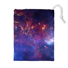 MILKY WAY CENTER Drawstring Pouches (Extra Large)