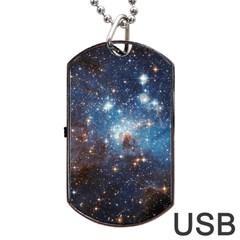 LH_95 Dog Tag USB Flash (One Side)