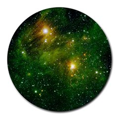 HYDROCARBONS IN SPACE Round Mousepads