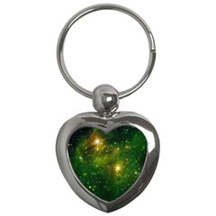 HYDROCARBONS IN SPACE Key Chains (Heart)