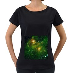 HYDROCARBONS IN SPACE Women s Loose-Fit T-Shirt (Black)