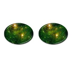 HYDROCARBONS IN SPACE Cufflinks (Oval)